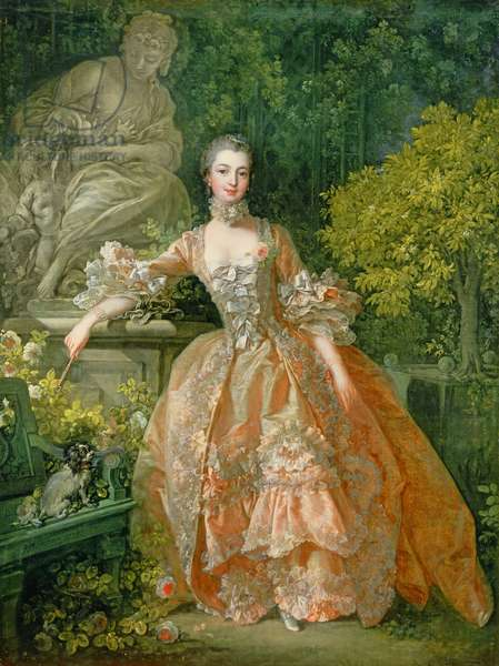 Madame de Pompadour, 1759 (oil on canvas)
