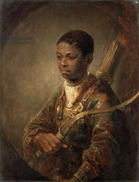 A Young Archer, c.1639-40 (oil on oak panel)