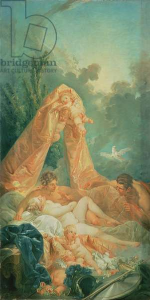 Mars and Venus surprised by Vulcan, 1754 (oil on canvas)
