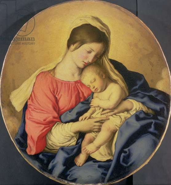 The Virgin and Child, c.1640-85 (oil on canvas)
