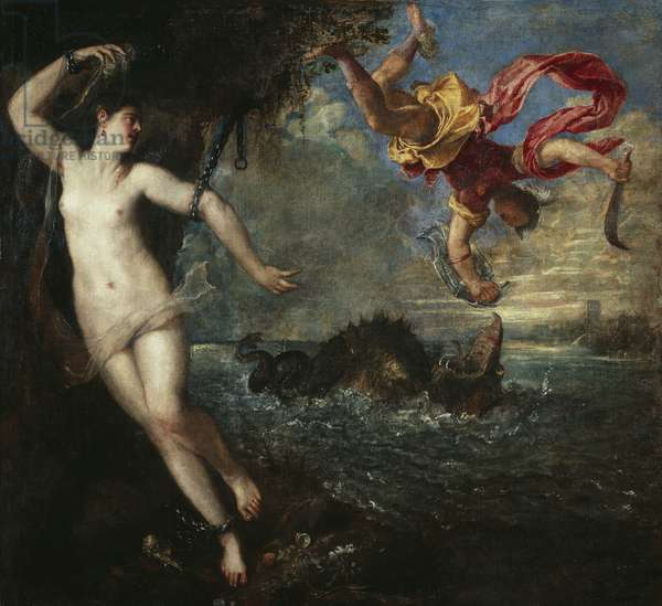 Perseus and Andromeda, 1554-56 (oil on canvas)