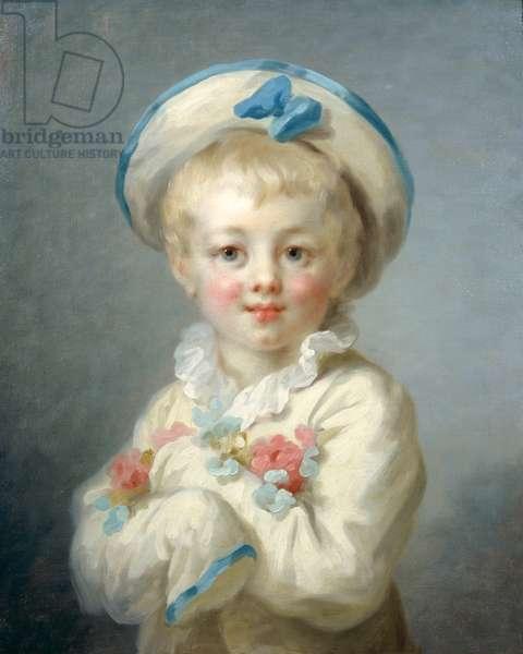 A Boy as Pierrot, c.1780 (oil on canvas)