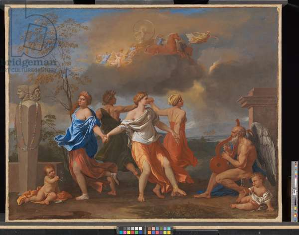 A Dance to the Music of Time, c.1634-36 (oil on canvas)