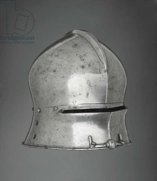 Sallet, c.1490 (iron or steel)