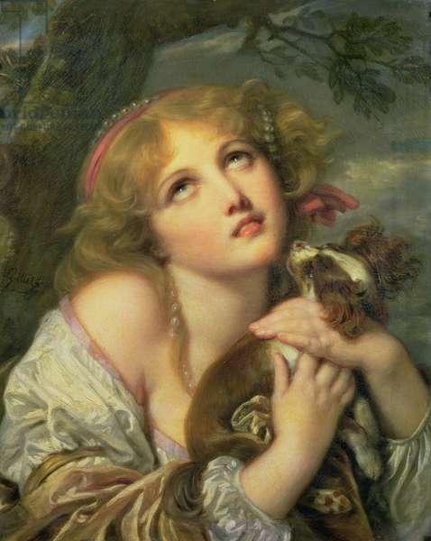The Souvenir (Fidelity) c.1787-89 (oil on canvas)