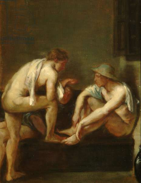 The Bathers, 1900 (oil on board)