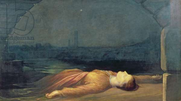 Found Drowned, 1848-50 (oil on canvas)