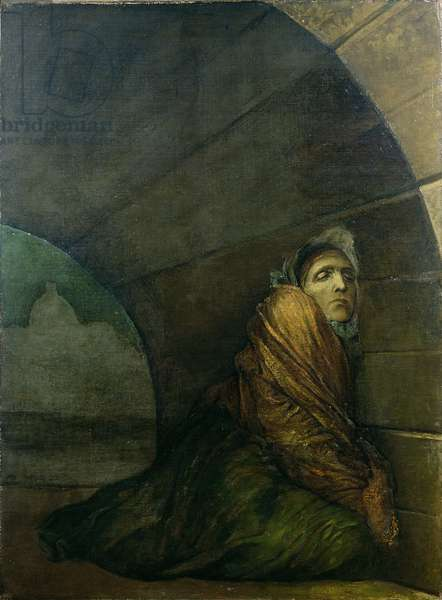 Under a Dry Arch, 1849-50 (oil on canvas)