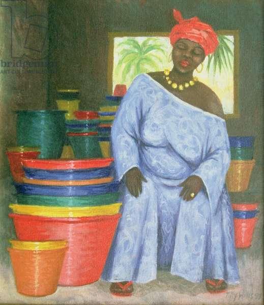 Bucket Shop, 1999 (oil on canvas)