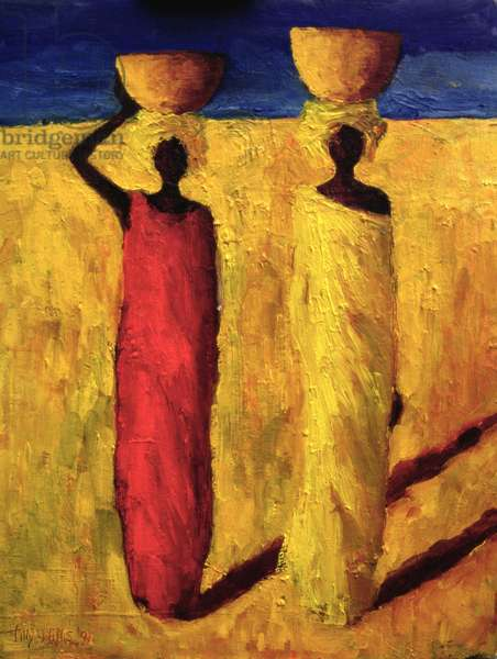 Calabash Girls, 1991 (oil on canvas)