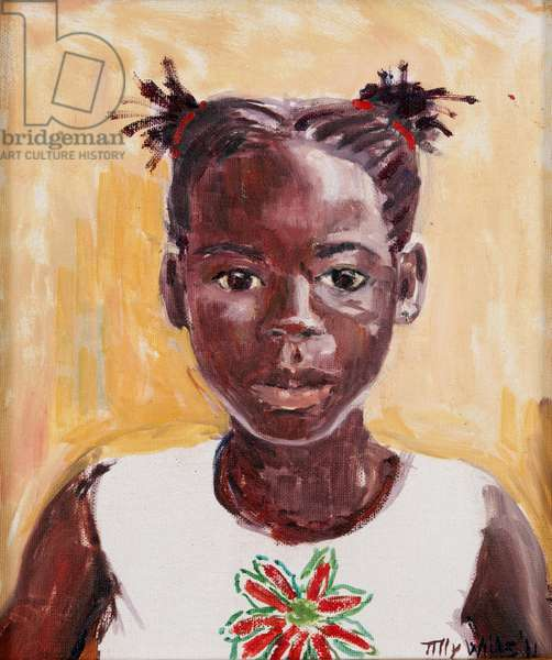 African Girl (oil on canvas)