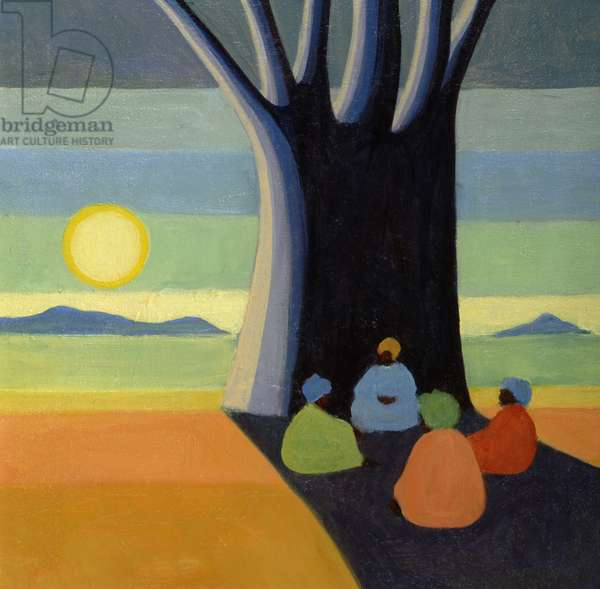 The Meeting, 2005 (oil on canvas)