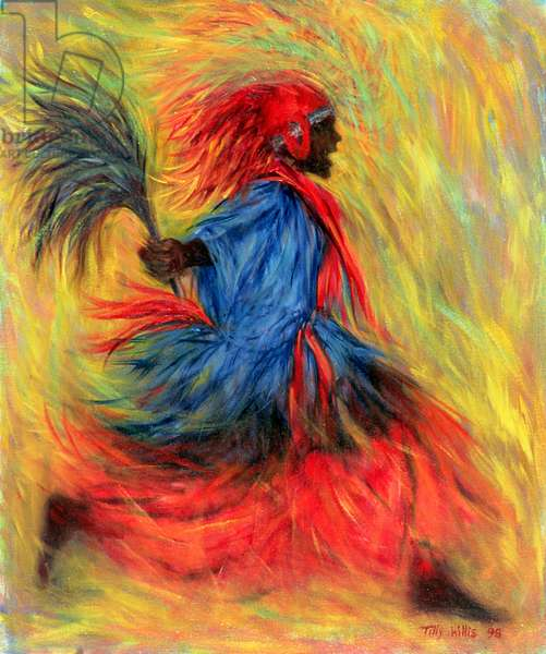 The Dancer, 1998 (oil on canvas)