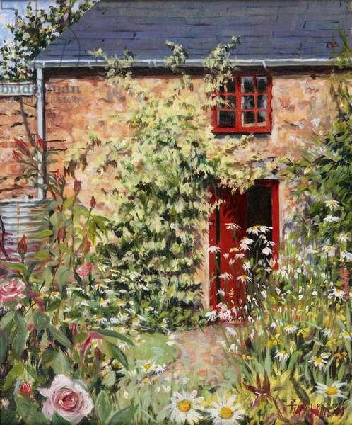 Studio Door, 2009 (oil on canvas)