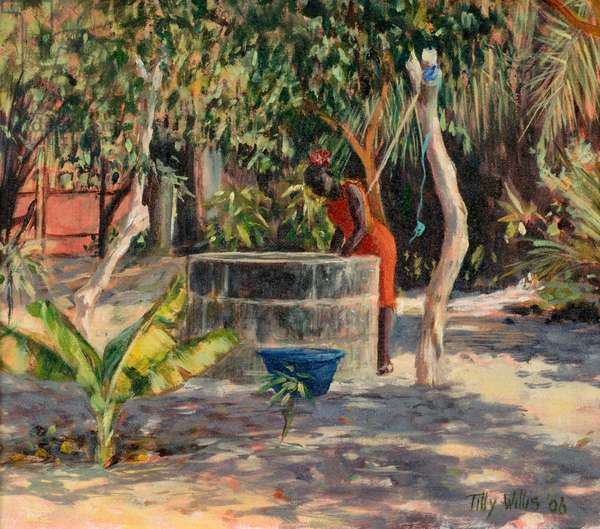 At The Well, 2006 (oil on canvas)