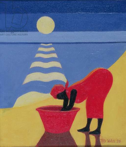 By the Sea Shore, 1998 (oil on canvas)