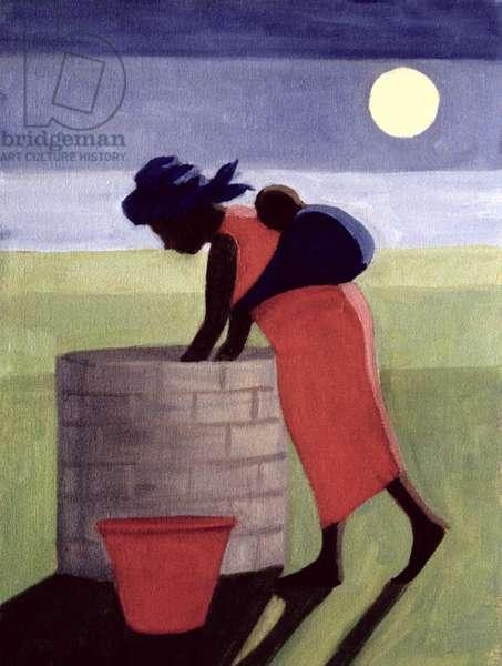 Mama (oil on canvas)