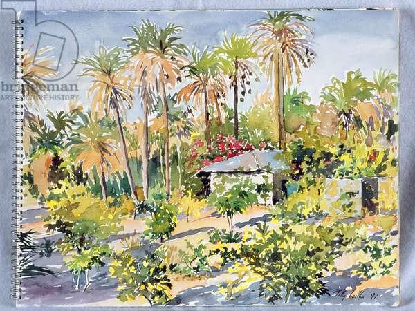 Denbo's House, 1997 (w/c on paper)