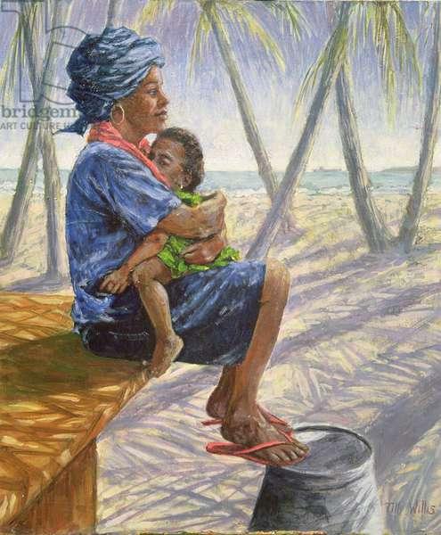 Mother Love, 2003 (oil on board)