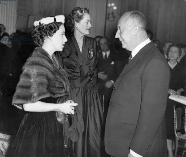 Christian Dior and Margaret of England