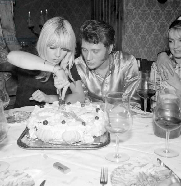 Johnny Hallyday and Sylvie Vartan