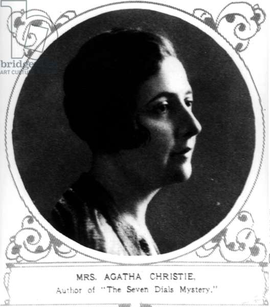 Agatha Christie, 1929 Author