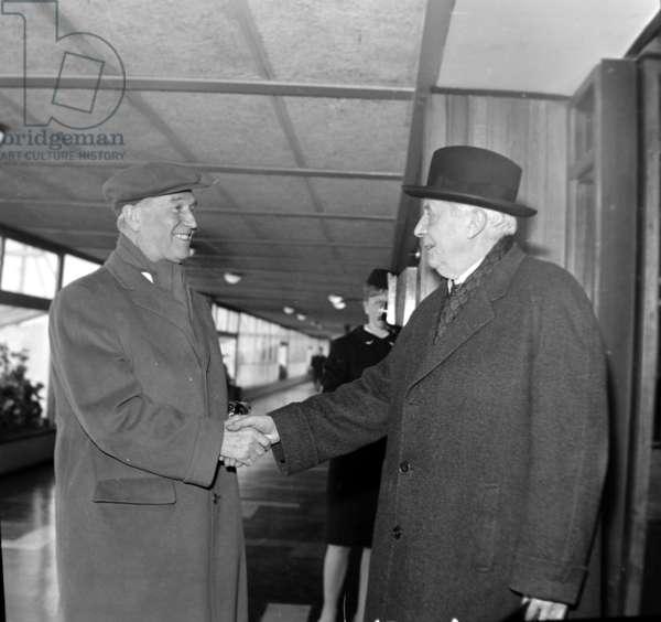 Maurice Chevalier et Charles Munch