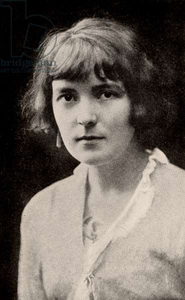 Katherine Mansfield, pen name of Katherine Mansfield Beauchamp (1888-1923) short story writer born in Wellington, New Zealand. Mansfield in 1914