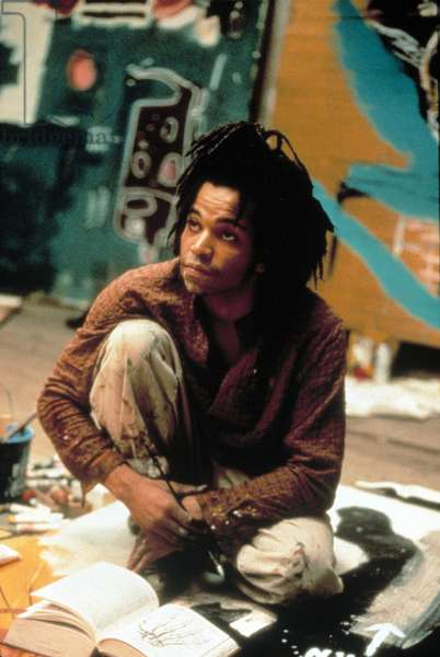 Basquiat de JulianSchnabel avec Jeffrey Wright (in the role of Jean Michel Basquiat), 1996