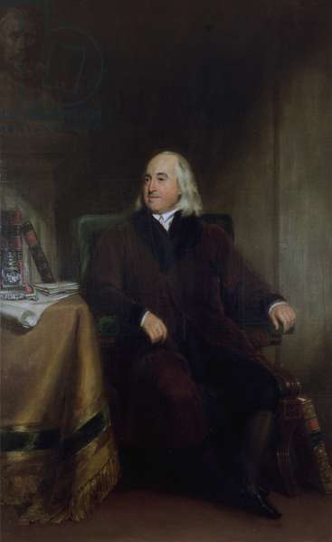 Jeremy Bentham, c.1829 (oil on canvas)