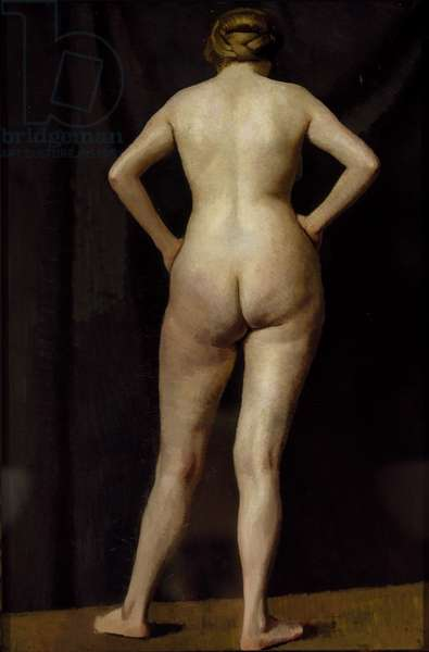 Female Figure Standing, c.1913 (oil on canvas) [LDUCS-5206]