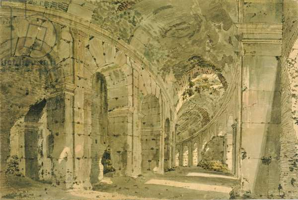 The Colosseum, c.1774-75 (w/c on paper)