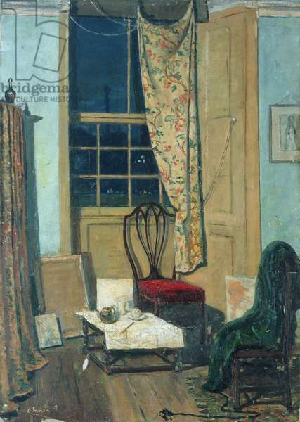 The Corner of a Room, 1908 (oil on canvas)