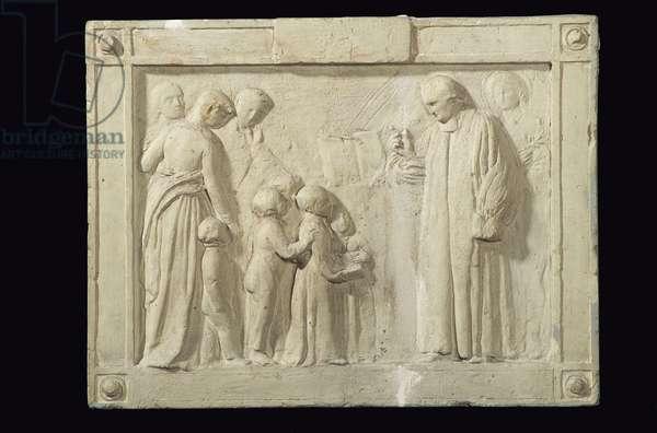 Monument to the Rev. John Clowes, 1819-20 (plaster)