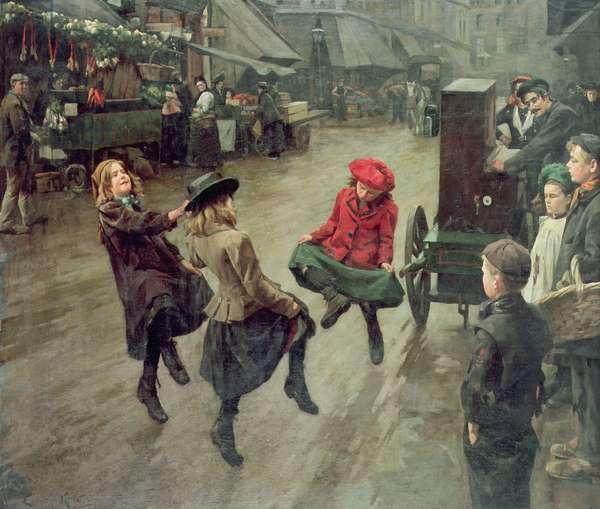 London Street Children, 1904 (oil on canvas)