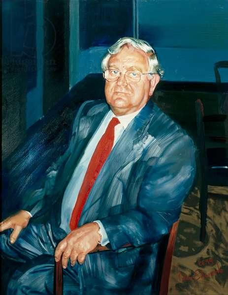 Sir Derek Roberts, 1999 (oil on canvas)