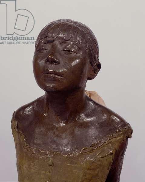 Detail of Little Dancer, Aged Fourteen, c.1880-81 (bronze & fabric) (see also 419952-54)