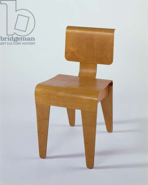 Isokon Dining Chair, 1936 (plywood) (see also 420556)
