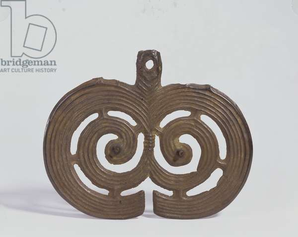 Spiral plaque, Hungary, Late Bronze Age, c.800-700 BC (bronze)