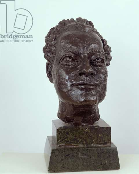 Portrait bust of Robert Sainsbury, 1942 (bronze)