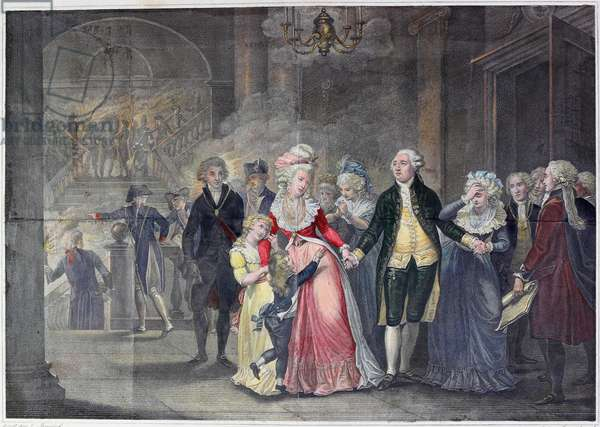 The Separation Of Louis XVI From His Family