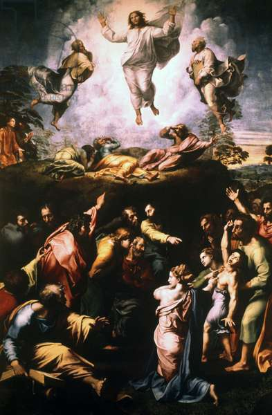 The Transfiguration, 1516-1520 (tempera on wood)