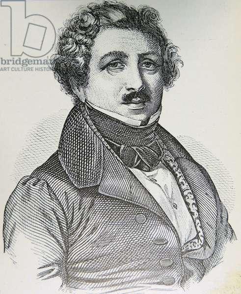 Loiis Jacques Daguerre, 1895 (engraving)