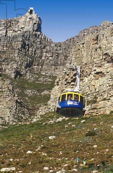 Table Mountain Cable Car, Cape Town, South Africa (photo)