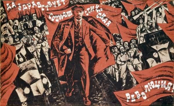 Long Live the Socialist Revolution!'.