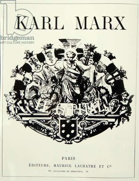 Illustration from an early twentieth century edition of Das Kapital