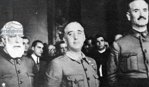 Spanish Civil War nationalist Generals Miguel Cabanellas