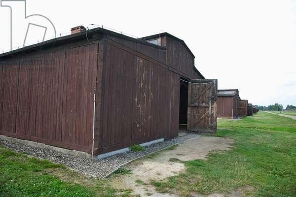 Medical Barracks, Auschwitz-Birkenau Concentration Camp, Oswiecim, Malopolska, Poland (photo)