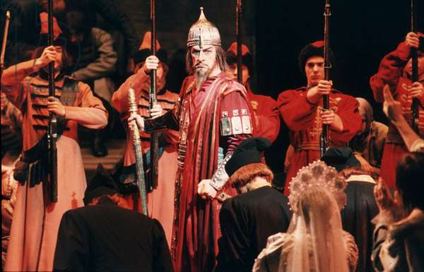 Moscow, Russia, Bolshoi Theater: V, Pochapsky as Ivan the Terrible in Rimsky-Korsakov'S Opera 'The Maid of Pskov'.