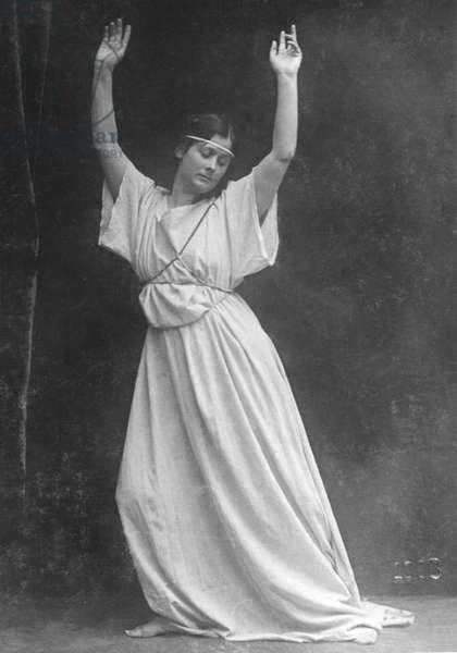 Isadora Duncan (1878-1927), American Dance Pioneer.